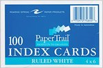 Index Cards 4x6 Ruled 100 ct