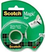 """TAPE SCOTCH MAGIC TRANSPARENT TAPE 1/2""""X450"""""""