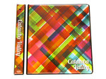"BINDER 1"" - 3 RING CVCC MULTI-COLOR PLAID"