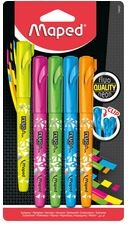 HIGHLIGHTER FLUO PEPS CONNECT PEN STYLE ASST CHISEL 5PK