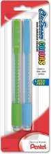 ERASER CLIC COLORS 2PK